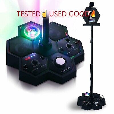 Singsation Performer Deluxe All-In-One Karaoke Party System Bluetooth USED☝