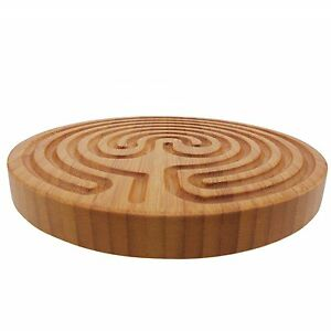 Finger Labyrinth Maze Meditation Prayer - Cretan Style - BambooMN - 6