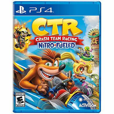 Crash Team Racing: Nitro-Fueled PS4 [Factory Refurbished]