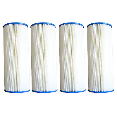 (Pleatco PA225 Pool Filter Replacement Cartridge, MicroStar-Clear C225 (4 Pack))