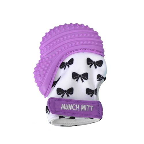 Munch Mitt Pastels Specialty Collection Silicone Teething Mitten Mint Green