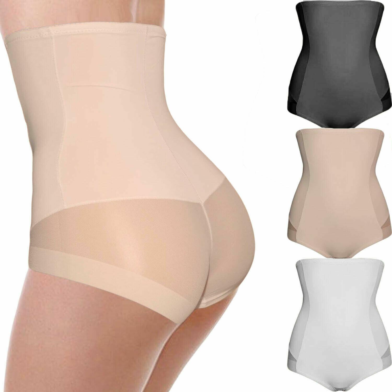 Miederslip Miederhose Shapewear Taillenformer mit Silikonlinien Bauchweg
