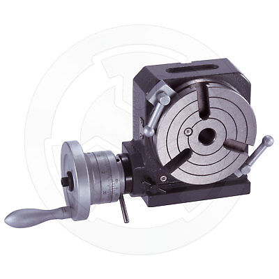 Vertex Horizontal And Vertical Rotary Table 4 Inches Hv-4 1001-000