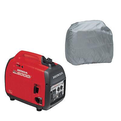 Silver Polyester Dustproof Generator Cover Protect For Honda Eu2000i Eu2200i