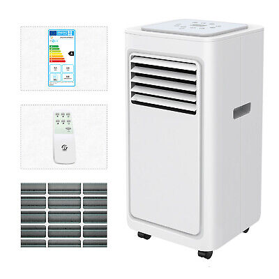 4in1 Eco 9000BTU Air Conditioner Portable Conditioning Unit 2.1KW Remote Class A