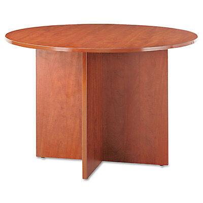 Alera Round Conference Table (Alera Valencia Round Conference Table w/Legs, 29 1/2h x 42 dia., Medium)