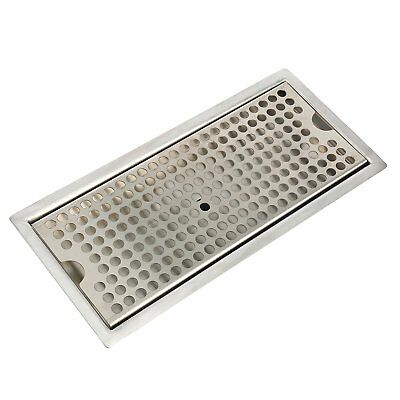 12 Stainless Steel Flush Mount Drip Tray With Drain