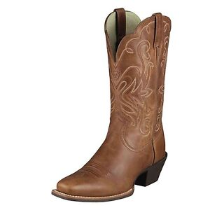 Ariat-Womens-Legend-Square-Toe-Cowboy-Western-Russet-Rebel-10001056-15845