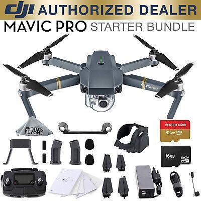 DJI Mavic Pro 4k Quadcopter Drone Starter Bundle