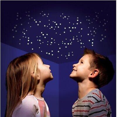 Glow in the Dark Leuchtsticker Sterne Leuchtsterne Sternenhimmel leuchten