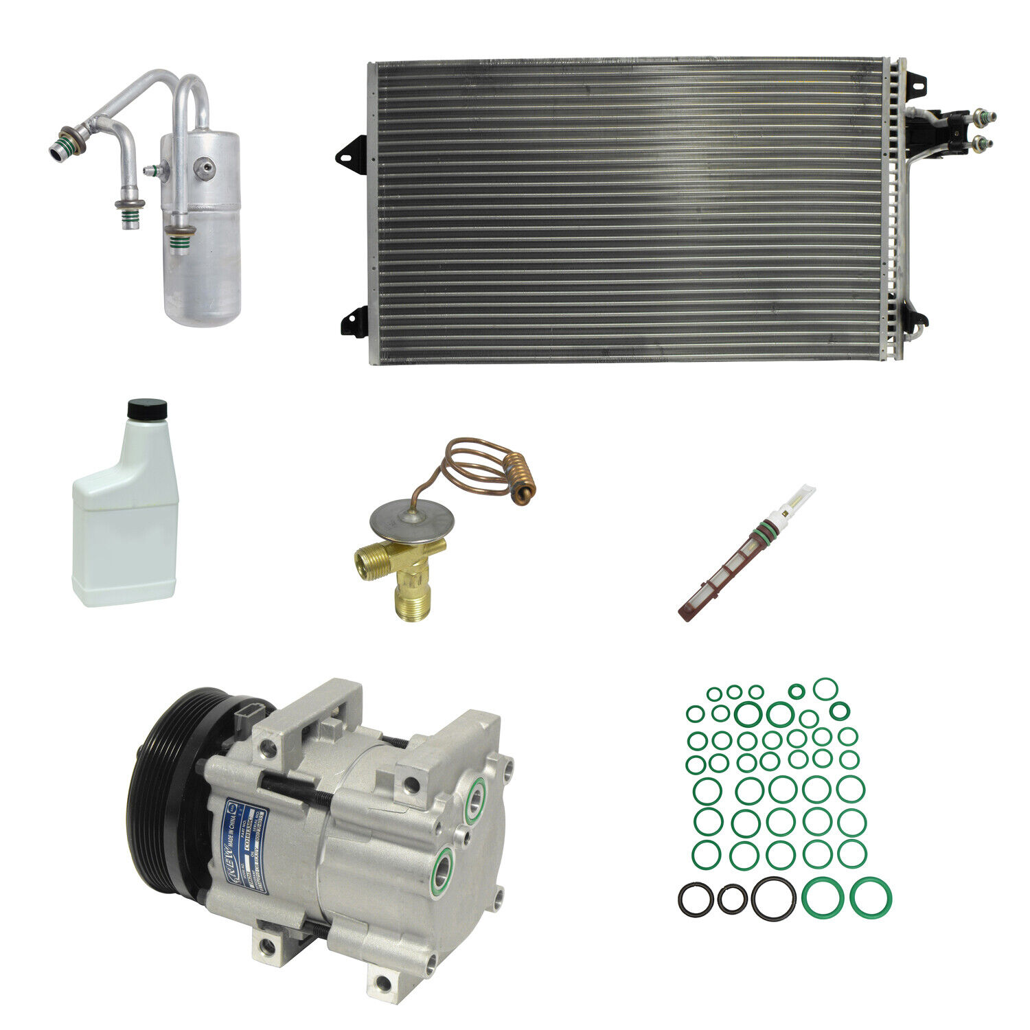 Windstar New A//C Compressor and Component Kit 1053464