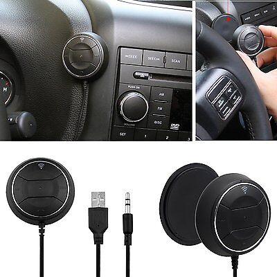 NFC Bluetooth 3.5mm AUX Music Stereo Car Audio Receiver Adapter Hands-Free Kit