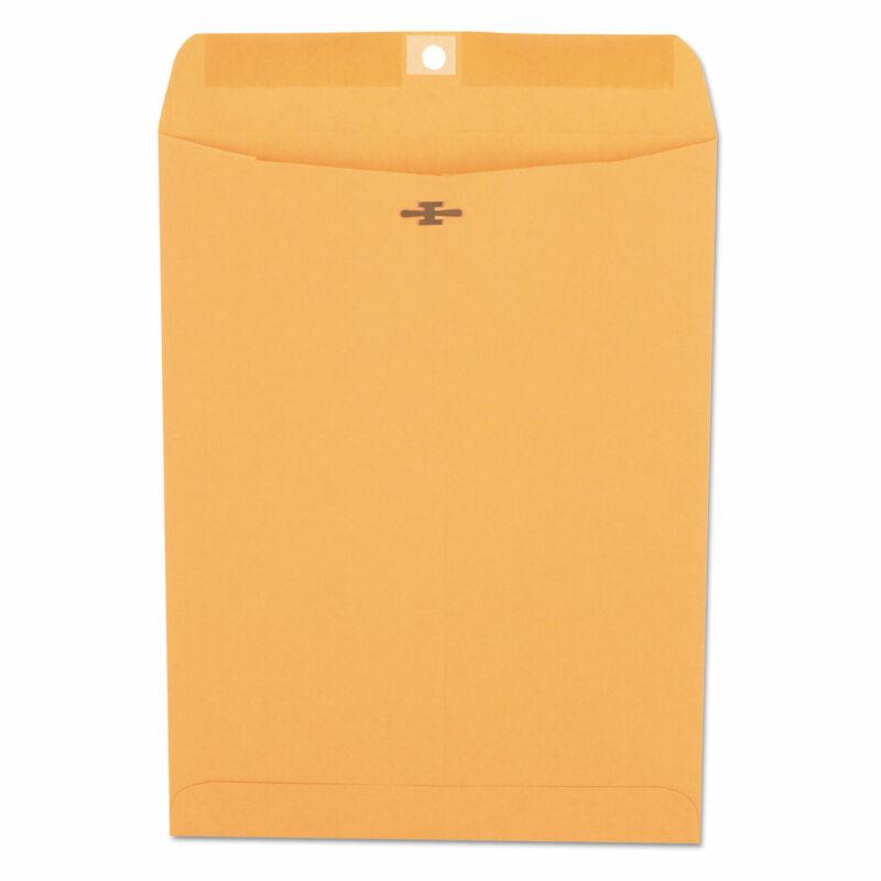 UNIVERSAL Kraft Clasp Envelope Center Seam 28lb 9 x 12 Brown Kraft 100/Box 35264