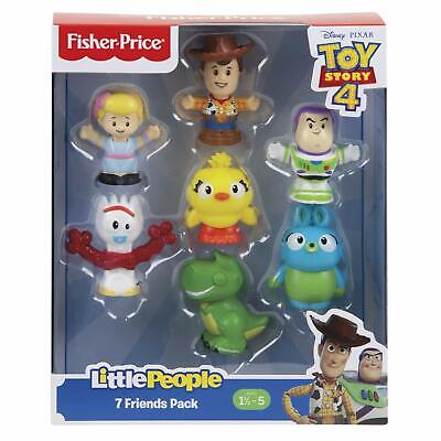 Disney Toy Story 4 Little People 7 Figure Character Pack Figures Fisher Price