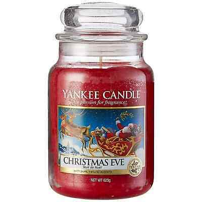 YANKEE CANDLE - Candela Profumata Christmas Eve in Giara Grande da 623 gr - Rara