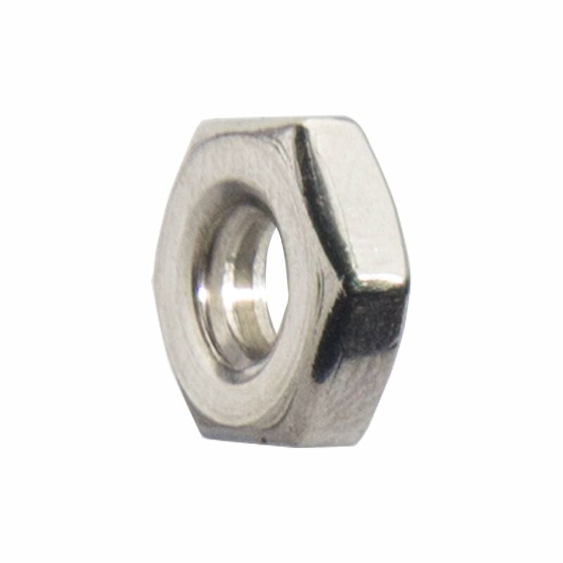 Machine Screw Hex Nuts Stainless Steel Grade 18-8 All Sizes and Quantities