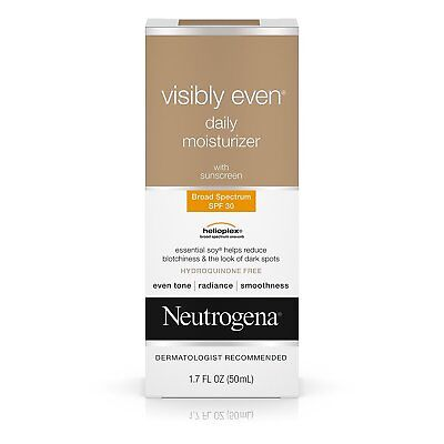 Neutrogena Visibly Even Daily Facial Moisturizer With Broad Spectrum SPF