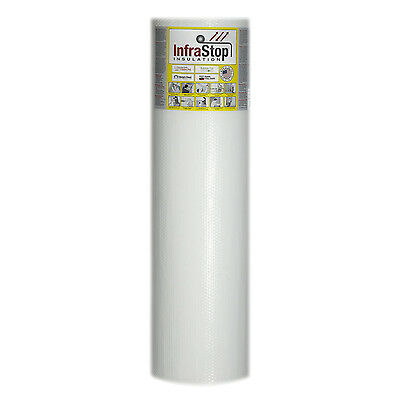 Infrastop 48 X 50 Double Bubble White Reflective Foil Insulation