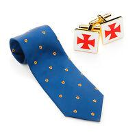 Qualità Massonica 100% Tessuto Di Seta Cavalieri Templari Da Legare & -  - ebay.it