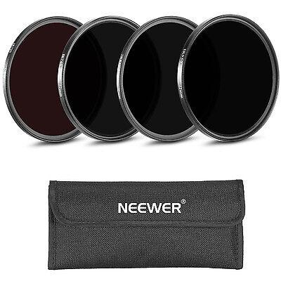Neewer 4 pcs 58mm IR Filters Set IR720 IR760 IR850 IR950 with Pouch f Nikon D710