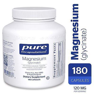 Pure Encapsulations - Magnesium (glycinate) 180 - Pure Magnesium