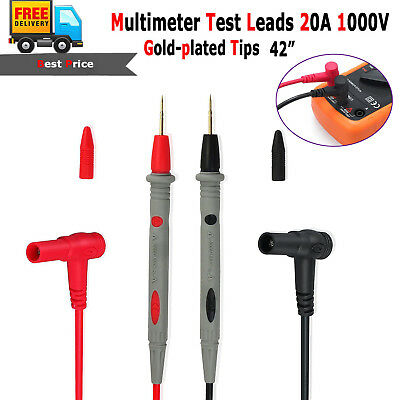1000v20a Universal Digital Multimeter Multi Meter Test Lead Probe Wire Pen Cable