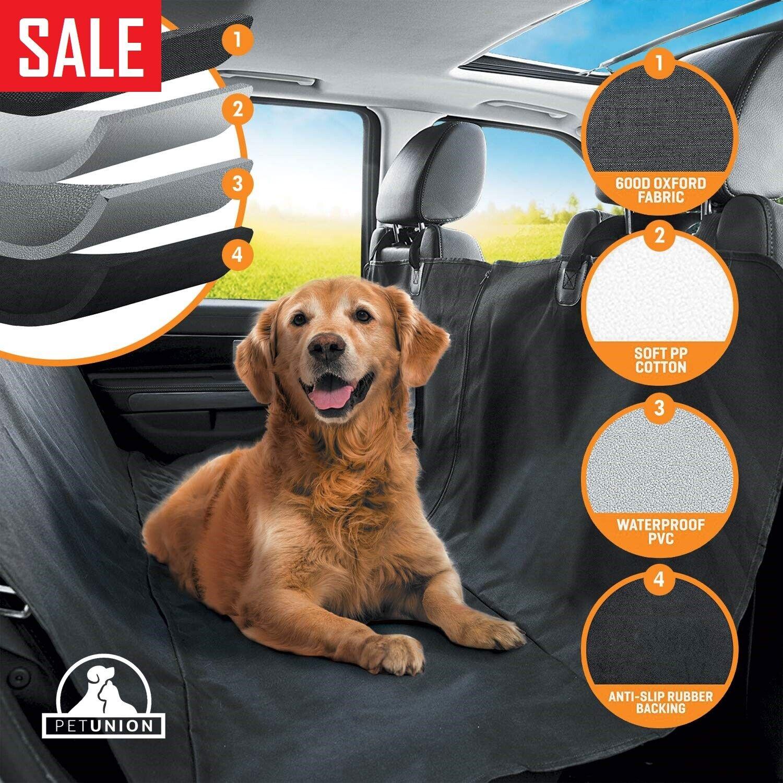 Luxury Dog Car Seat Cover Waterproof Hammock for Cat Pet SUV