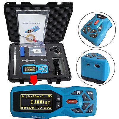 Surface Roughness Tester Meter Profile Gauge 20 Parameters Surface Profilometer