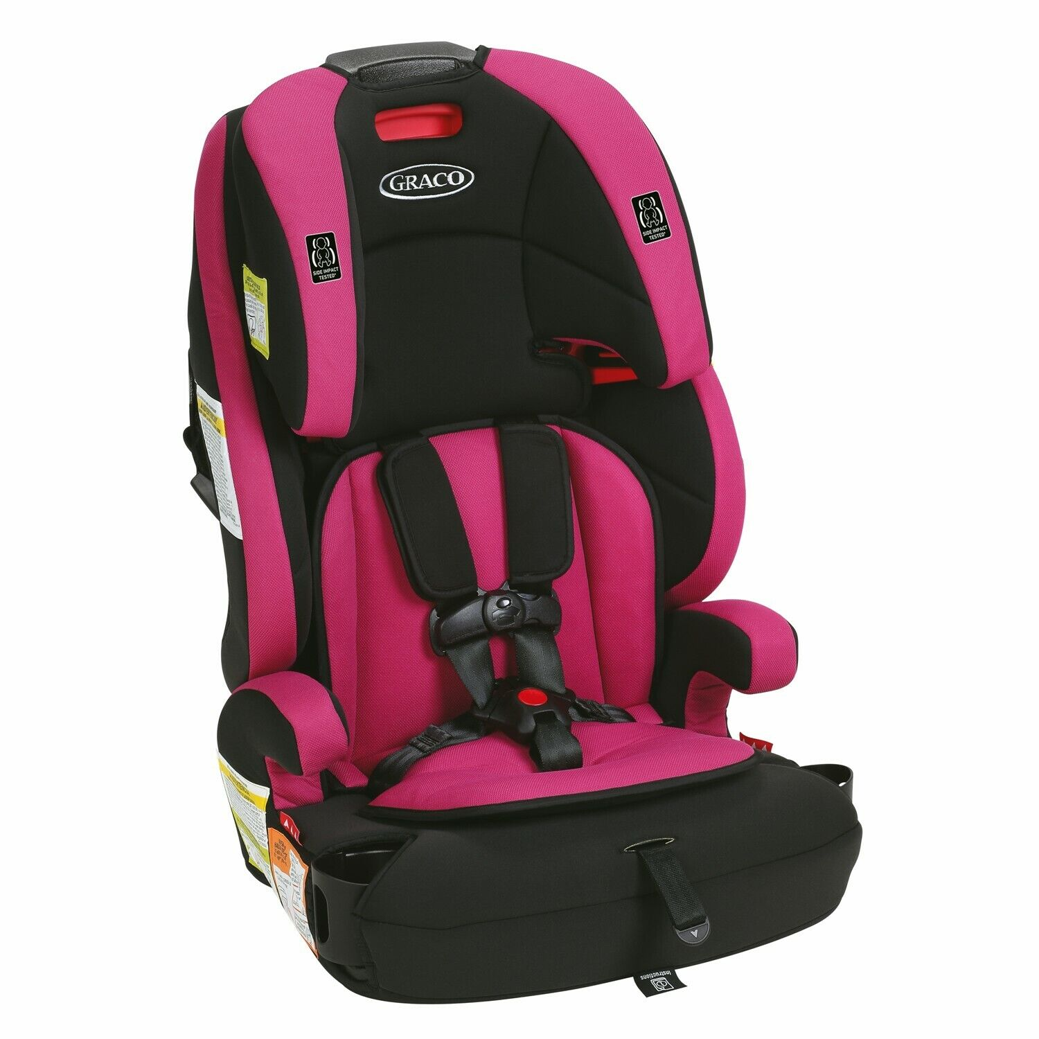 Graco Wayz 3-in-1 Harness Booster Car Seat Child Kids Two Cu