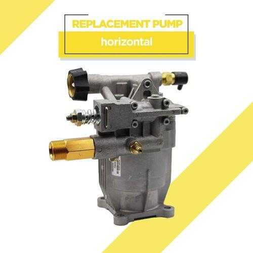 "Horizontal Pressure Washer Pump - 3/4"" Shaft - MAX 3000 PSI, 2.5 GPM - PEGGAS"