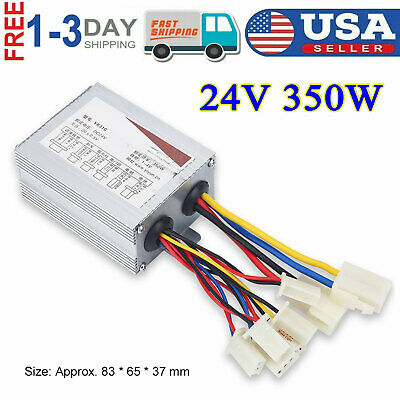 24v 350w Dc Motor Brushed Speed Controller For Electric Bicycle Scooter Razor