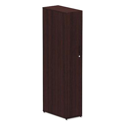 Mahogany Office Wardrobe - Alera Valencia Series Wardrobe 11 7/8w x 23 5/8d x 65h Mahogany VA621224MY