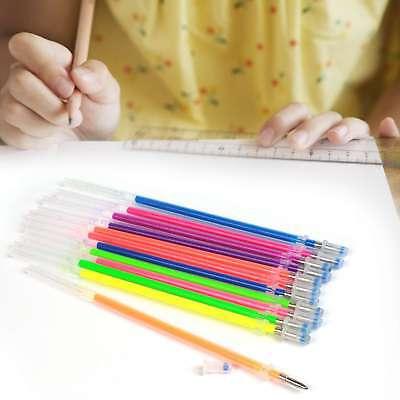 48 Color Gel Pen Ink Refills Glitter Metallic Replacement Refill