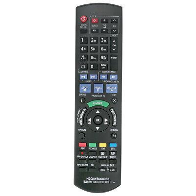 N2QAYB000986 Fernbedienung Only Passt für Panasonic Blu ray Disc Recorder IR6