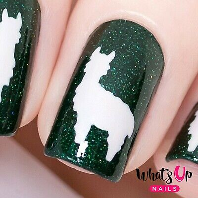 Llama Stencils for Nails, Nail Stickers, Nail Art, Nail Vinyls for sale  Tempe