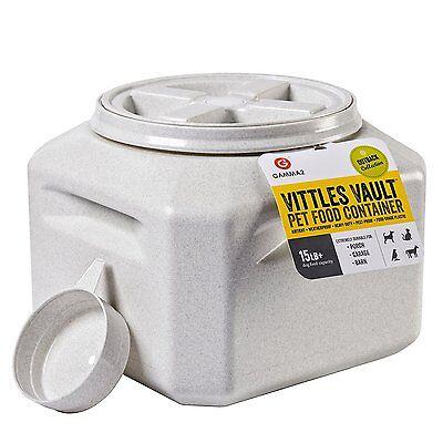 Gamma Vittles Vault Storage Container - NEW Gamma2 Vittles Vault Plus 15 lb Pet Food Storage Container