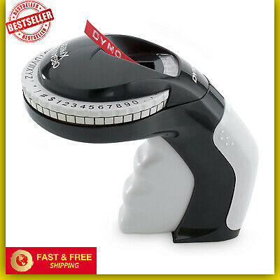 Embossing Label Maker With 3 Dymo Label Tapes New
