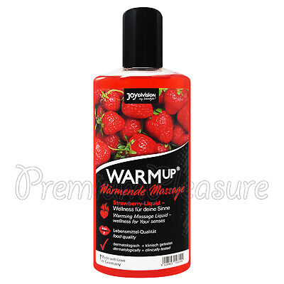 JoyDivision Aufwärmen Erdbeere Geschmack Massageöl Erwärmungs Liquid 150ml