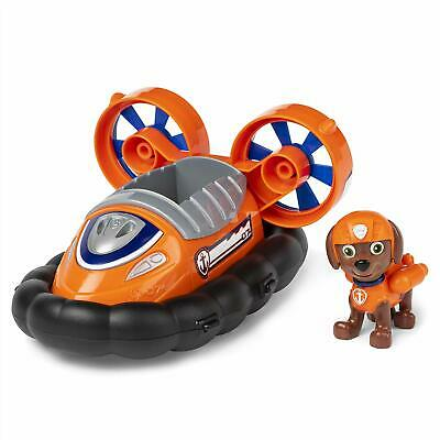 Zuma Paw Patrol (Paw Patrol, Zuma's Hovercraft Vehicle with Collectible Figure, for Kids)