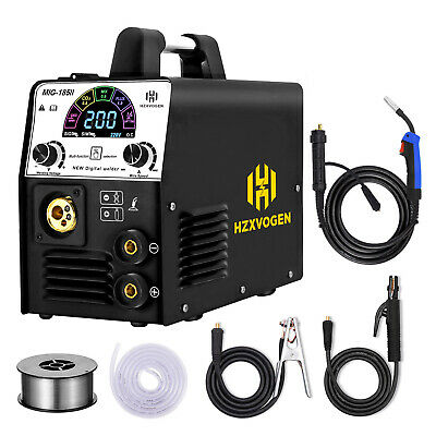 Hzxvogen 3in1 Mig Welding Machine Lcd Display 220v 160a Arc Mma Lift Tig Welder