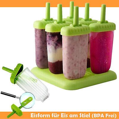 el - BPA Frei ! Kinder  Deckel Ice Silikon Eisform Maker Pop (Deckel Für Kinder)