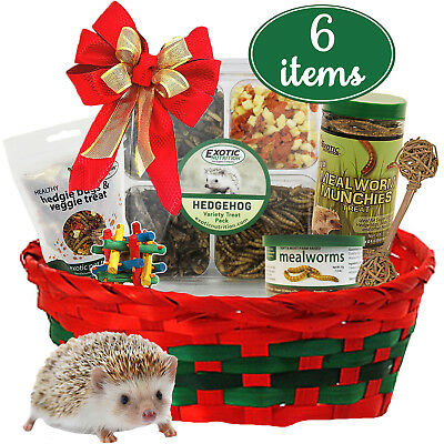 Hedgehog Holiday Gift Set (6 Items)