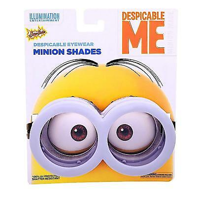 32e2b35417ab Minion Goggles Sunstaches Despicable Me Fancy Dress Halloween Costume  Accessory