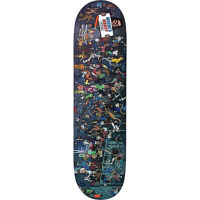 "Baker Figgy Where's Figgy Skateboard Deck 8.0"""