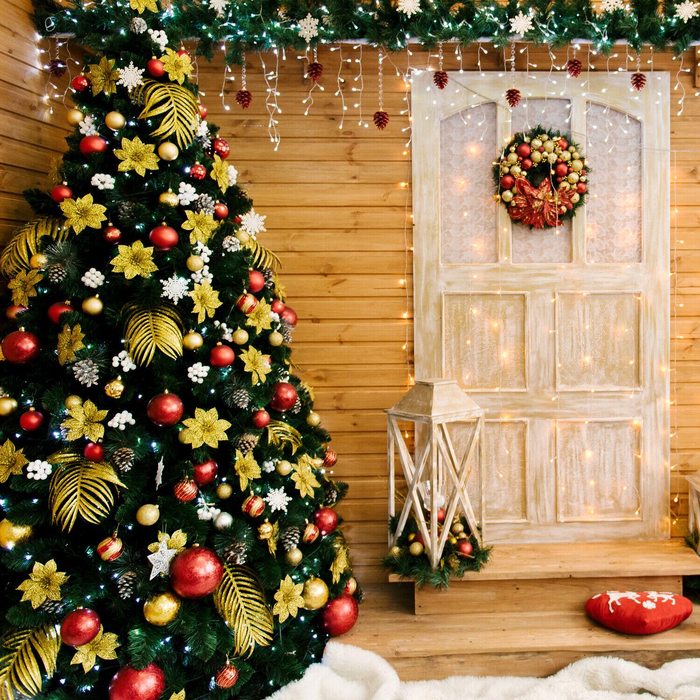 Luxus PVC Christbaum künstlicher Weihnachtsbaum 270cm Tannenbaum mit 1468 Zweige