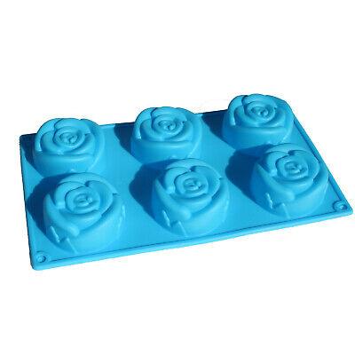Large ROSE Flower Soap Lotion Bars Mold Kit Chocolate Cake Gelatin Silicone Pan Large Soap Kit