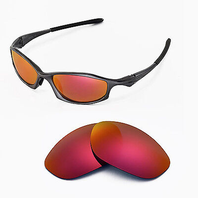 5c027822657 New Walleva Polarized Fire Red Replacement Lenses For Oakley Hatchet Wire