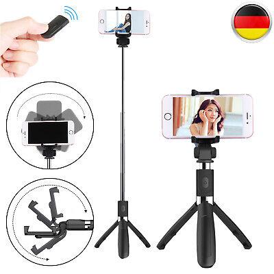 Handy Selfie Stick Stativ Bluetooth Teleskop für iPhone Android LG
