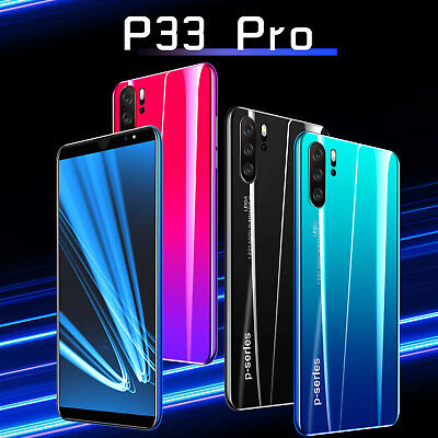 """Android Phone - P33 Pro Unlocked Smart Mobile Phone 5""""/5.8'' Android 8.1 Dual SIM&Camera 4G +64G"""