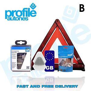 European France Travel Kit with Breathalysers Beam Deflectors